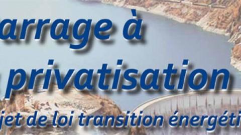 Transition Energétique > Barrage à la privatisation