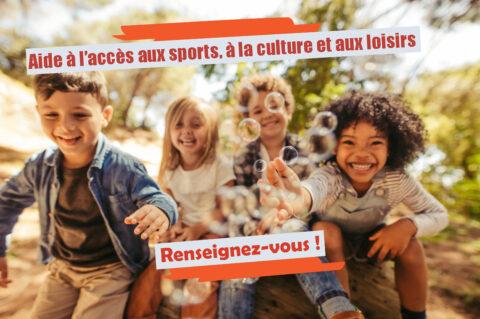 Aide à l'accès aux sports, à la culture et aux loisirs 2021/2022